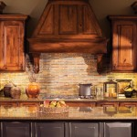 "Our popular ""Platform Hood"" can be designed with corbels that don't intrude on the counter-top space next to the cook-top."