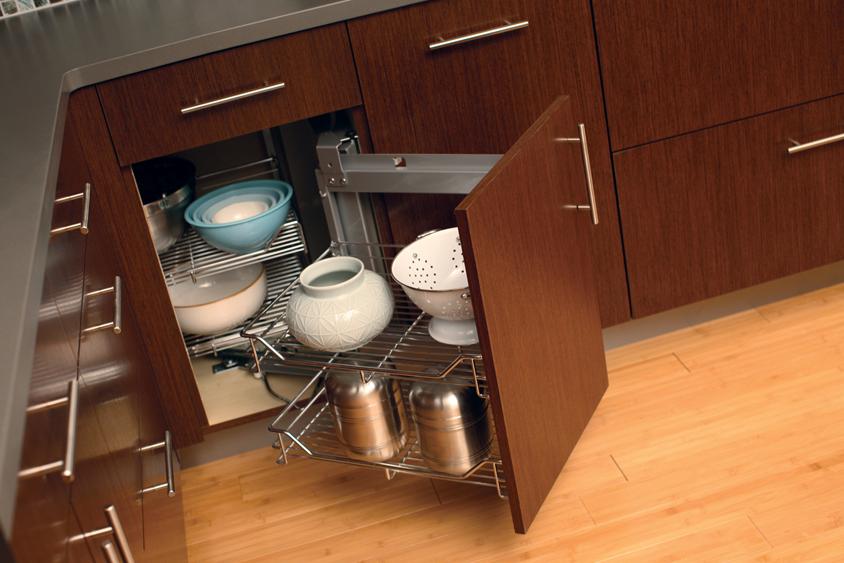 Cardinal Kitchens Baths Storage Solutions 101 Convenient Corner