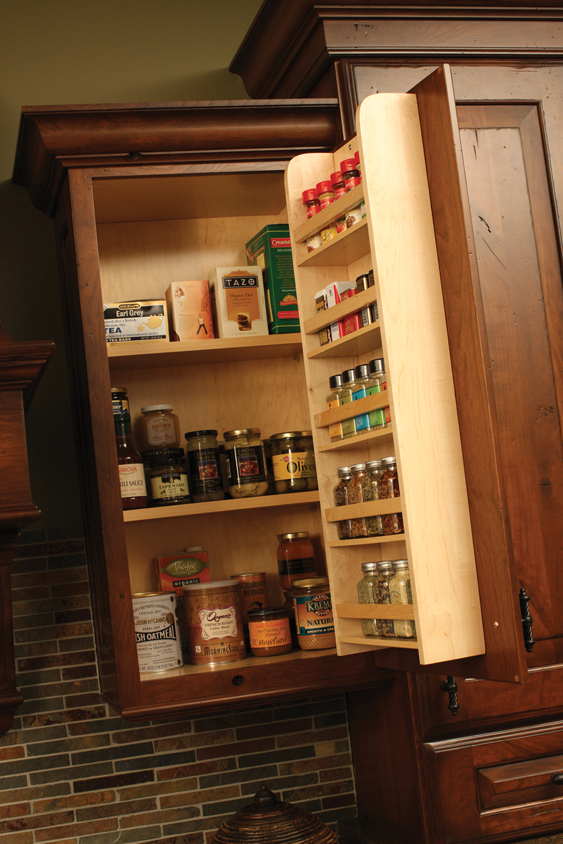 kitchen spice racks for cabinets cardinal kitchens amp baths storage solutions 101 spice 22037