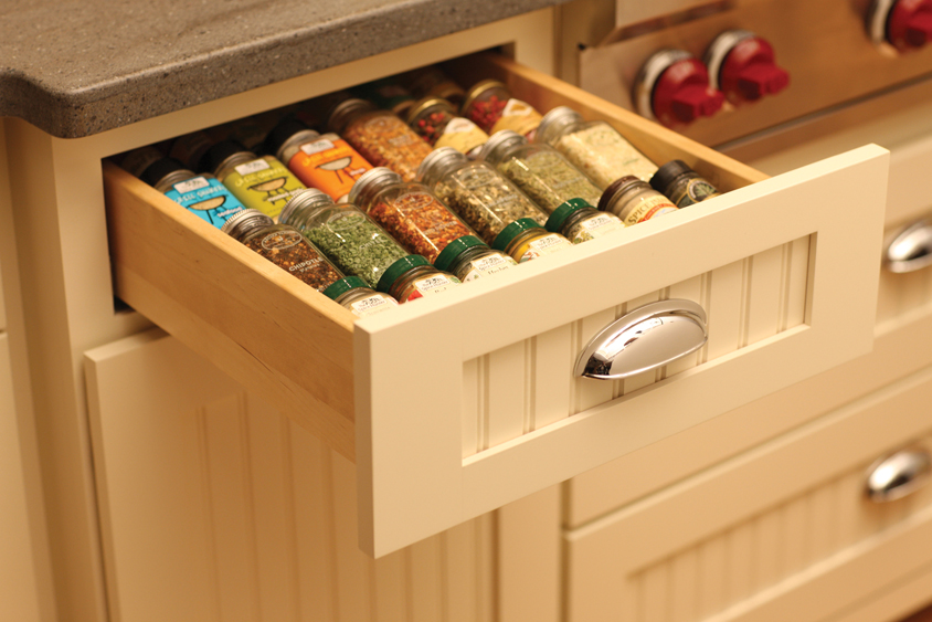 Storage Solutions 101 Spice Accessories & Cardinal Kitchens u0026 Baths | Storage Solutions 101: Spice Accessories