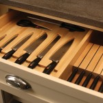 Here is another option, also made for Henckels knives and includes a slotted knife holder for a set of steak knives.