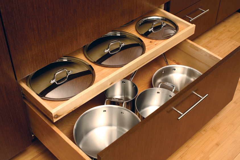 Storage Solutions 101 Pots and Pans & Cardinal Kitchens u0026 Baths | Storage Solutions 101: Pots and Pans