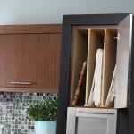 Tray Dividers are a convenient way to partition a cabinet for tray storage.