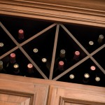"For larger wine collections, our ""X"" wine rack is a popular choice for your reds and whites."