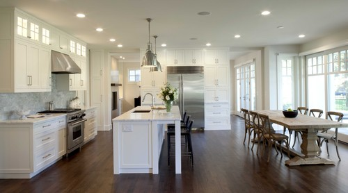 Contemporary Traditional Kitchen traditional, contemporary or transitional styling? | cardinal