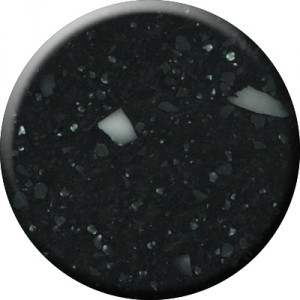 Crystal Black is a deep and starless sky specled with creamy glints of light.....
